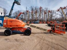 JLG 400S Rough Terrain Articulating Boom Lift (S/N 300137008, Year 2009), with 40' Platform