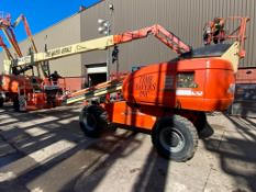JLG 600S Rough Terrain Boom Lift (S/N 300074864, Year 2004), with 60' Platform Height, 49.47'