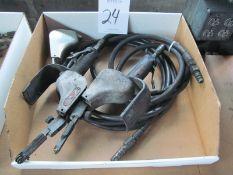 (2) Dynabrade #14000 Pneumatic Belt Sanders