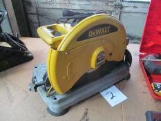"""DeWalt #D28715, 14"""" Abrassive Wheel Chop Saw"""