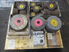 Lot of Assorted Grinding Wheels