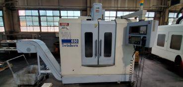 Twinhorn VH-650 3-Axis CNC Vertical Machining Center (New 2011)