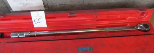 """Proto #6020AB 3/4"""" Drive Micrometer Type Torque Wrench"""