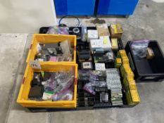 Lot of Electrical Parts including Contactors, Relay, & Assorted
