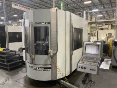 "DMG 60U hi-dyn 5-Axis CNC Horizontal Machining Center, S/N 1119-000121-3, 2004, with 25"" x 20"""