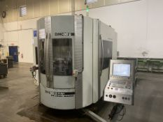 "DMG 60U hi-dyn 5-Axis CNC Horizontal Machining Center, S/N 1119-000122-3, 2004, with 25"" x 20"""