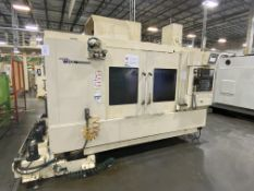 "Hyundai Wia F650 3-Axis CNC Vertical Machining Center, S/N G3686-1175, 2015, with 63"" x 25"" Table,"