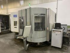 "DMG 60T 5-Axis CNC Vertical Machining Center, S/N 1143-000061-3, 2004, with 25"" x 20"" Table, HSK"