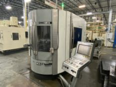 "DMG 60U hi-dyn 5-Axis CNC Horizontal Machining Center, S/N 1119-000119-3, 2004, with 25"" x 20"""
