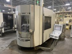 "DMG 60U hi-dyn 5-Axis CNC Horizontal Machining Center, S/N 1119-000125-3, 2004, with 25"" x 20"""