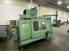 "Hyundai Wia KV45 CNC Vertical Machining Center, S/N KV45442, 2003, with 45"" x 18"" Table, BT 40 Taper"