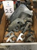 Lot of Assorted Kant Twist Clamps