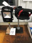 (2) Bayco LED Portable Workstation Lights