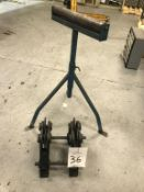 Round Stock Manipulator and Roller Stand
