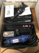 (2) Assorted Electric Die Grinders