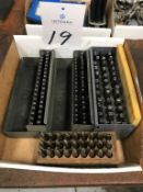 Lot of Assorted Steel Label Punches
