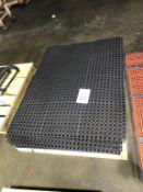 Lot of Ergonomic Floor Mats