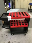 Huot 48-Station CAT 40 Tool Cart