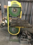 "20"" Vertical Band Saw"