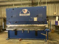 Standard Industrial AB200-12 200-Ton x 12' 2-Axis CNC Hydraulic Press Brake, 2015