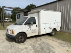 GMC 3500 12' Box Truck, 2001