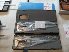 "(2) Brown & Sharp TWN 12"" Digital Calipers"
