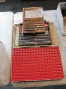 Lot of Gage Blocks & Pin Gages