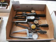 Lot of Assorted Dial Caliper Gages