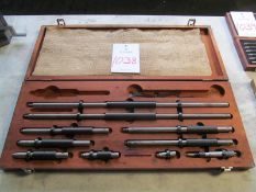 "Starrett, No 128, 2"" - 24"" Inside Micrometer Set"