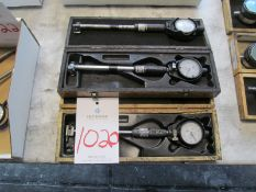 "(3) Dial Bore Gage 1.4"" to 2.4"" Range"