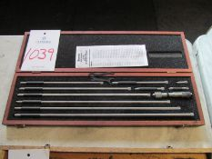 "Starrett, No 823E, 1"" - 18"" Inside Micrometer Set"