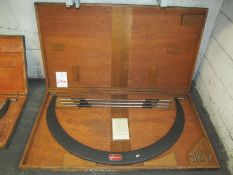 "Starrett Outside Micrometer No. 724, 36"" - 42"""