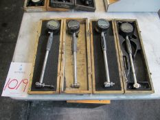 "(4) Digital Bore Gage 1.4"" to 2.4"" Range"
