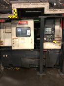 Mazak Quick Turn 300S CNC Chucker, S/N 145566 (New 2000), w/ Mazatrol CNC Control, Chip Conveyor (