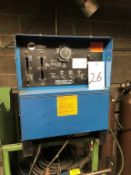 Miller Dialarc HF Constant Current AC/DC Arc Welding Power Source, S/N JH295801, Single Phase (