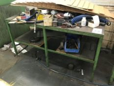"60"" x 36"" x 1/2"" Steel Table (Loc. Machine Shop)"