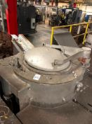 Inductotherm Tilting Induction Furnace, Powered Tilt, Powered Lid, Associated Electrical & Hydraulic