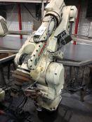 Kawasaki FS 30L+ CNC Robot, S/N FS0301144 (New 2008), w/ D32 F D001 Controller, Teach Pendant