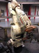 Kawasaki FS 30L+ 6-Axis CNC Robot, S/N FS0301146 (New 2008), D32FD001 Controller, Teach Pendant
