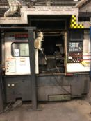 Mazak Quick Turn 300S CNC Chucker, S/N 145567 (New 2000), w/ Mazatrol CNC Control, Chip Conveyor (
