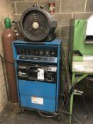 Miller Syncrowave 351 TIG Welder CC AC/DC Welding Power Source, S/N KH460636, with Miller Coolmate 4