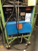 Miller DialarcWelding Power Source, S/N JH160500, Single Phase (Loc. Machine Shop)