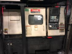 Mazak Quick Turn 300S CNC Chucker, S/N 145568 (New 2000),w/ Mazatrol CNC Control, Chip Conveyor (