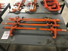 """(4) Carver 36"""" Bar Clamps"""