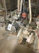 Lot of (4) Assorted Diaphragm Pumps