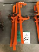 """(4) Carver 24"""" Bar Clamps"""