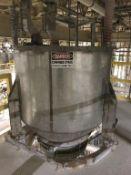 SS Weigh Cell Feed Hopper