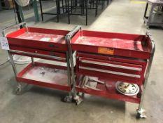 (2) Assorted Tool Carts