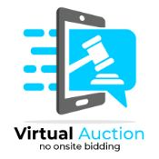 Reminder: This is a Live Virtual Event. There will be no onsite bidding. All bidding will be online.