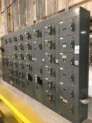 Allen-Bradley Center Line 6-Bank Motor Control Center